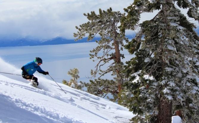snowboarder incline village stay